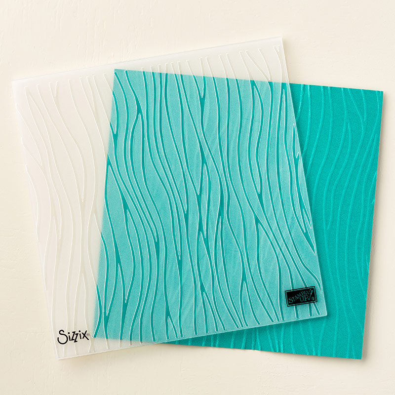 Seaside Textured Impressions Embossing Folder