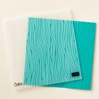 Textured Impressions Prägeform Meereswellen