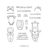 SÜSSES BABY (für transparente Blöcke) Auch erhältlich in Englisch und Französisch
