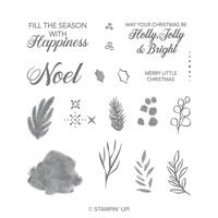 Peaceful Noel stamp set