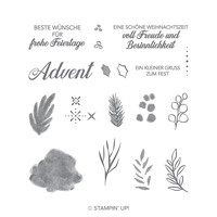 besinnlicher advent-stampin up