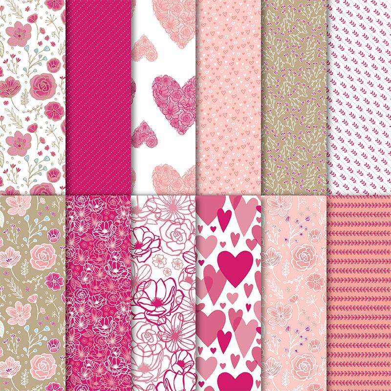 Neue Musterpakete für Designerpapier