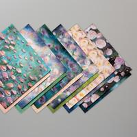 designerpapier florale treaume