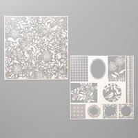 lasergeschnittenes papier schimmer stampin up
