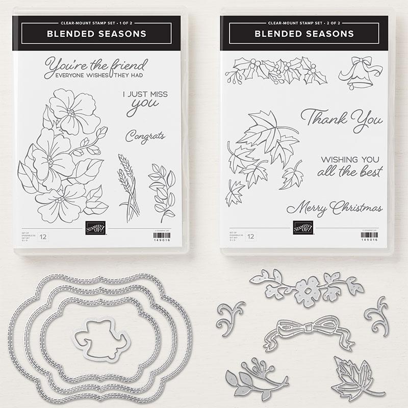Afbeeldingsresultaat voor blended seasons stampin up