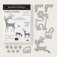 stampin up weihnachtshirsch