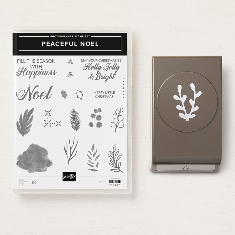 Image result for peaceful noel stampin up bundle