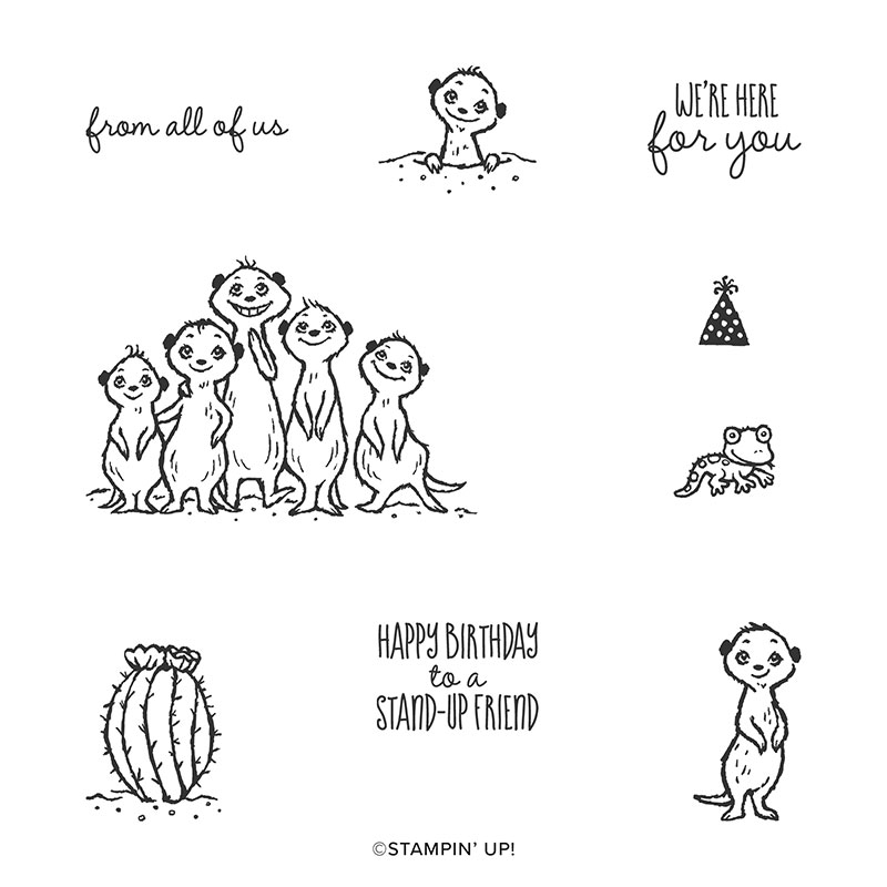 Image result for the gang's all meer stampin up