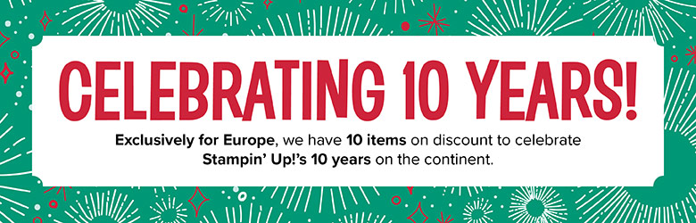 Europe 10th Anniversary Sale